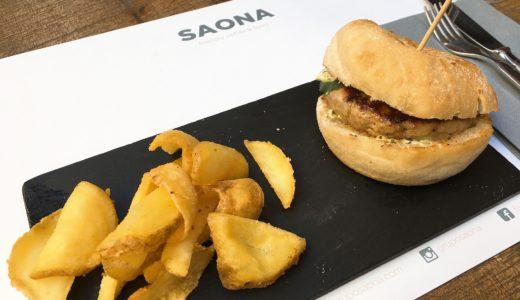 バレンシアのお洒落レストラン「サオナ・シスカ」(SAONA CISCAR)