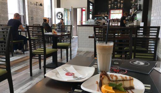 ブダペストでカジュアルにカフェタイム「カフェ・ファイヴ」(Cafe Five)