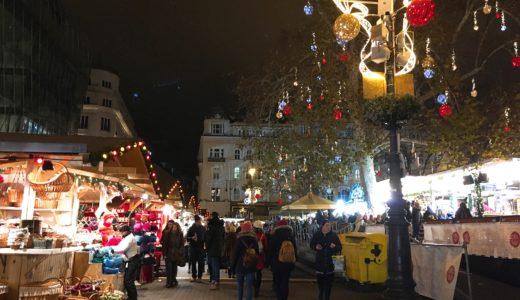 ブダペストのヴェレシュマルティ広場のクリスマスマーケット、2018年11月9日(金)〜2019年1月1日(火)に開催!