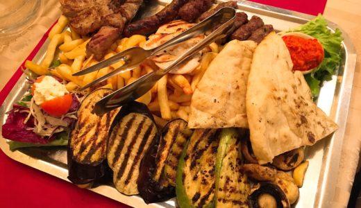 モスタルでボスニア・ヘルツェゴヴィナ料理!「シャドゥルヴァン」(Šadrvan)