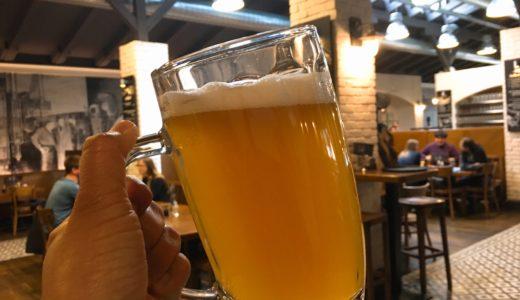 ブラチスラヴァのビール醸造所直営レストラン「ブラチスラヴスキー・メシュティアンスキ・ピヴォヴァル」(Bratislavský meštiansky pivovar)